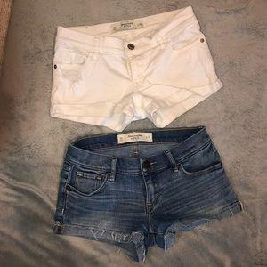 A&F denim shorts lot🔥